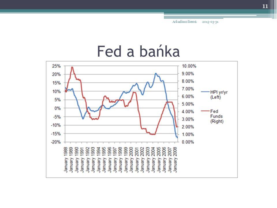 Fed a bańka 2015-03-31Arkadiusz Sieroń 11