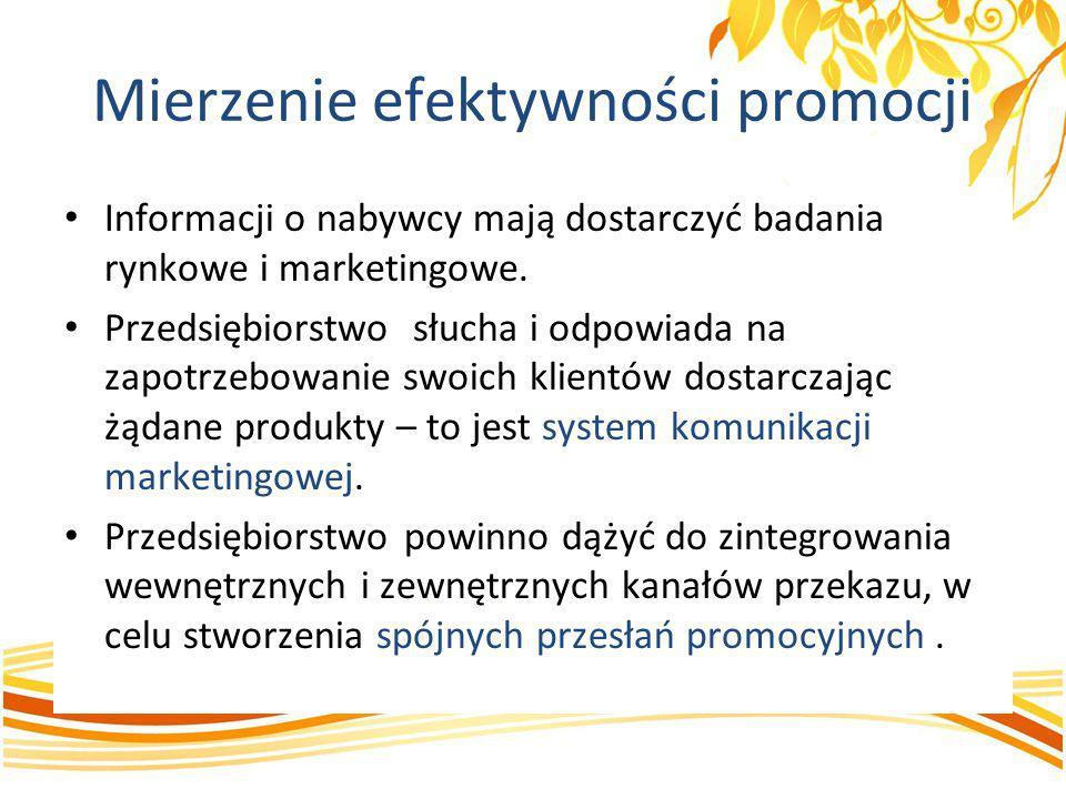 Informacji o nabywcy mają dostarczyć badania rynkowe i marketingowe. Przedsiębiorstwo słucha i odpowiada na zapotrzebowanie swoich klientów dostarczaj
