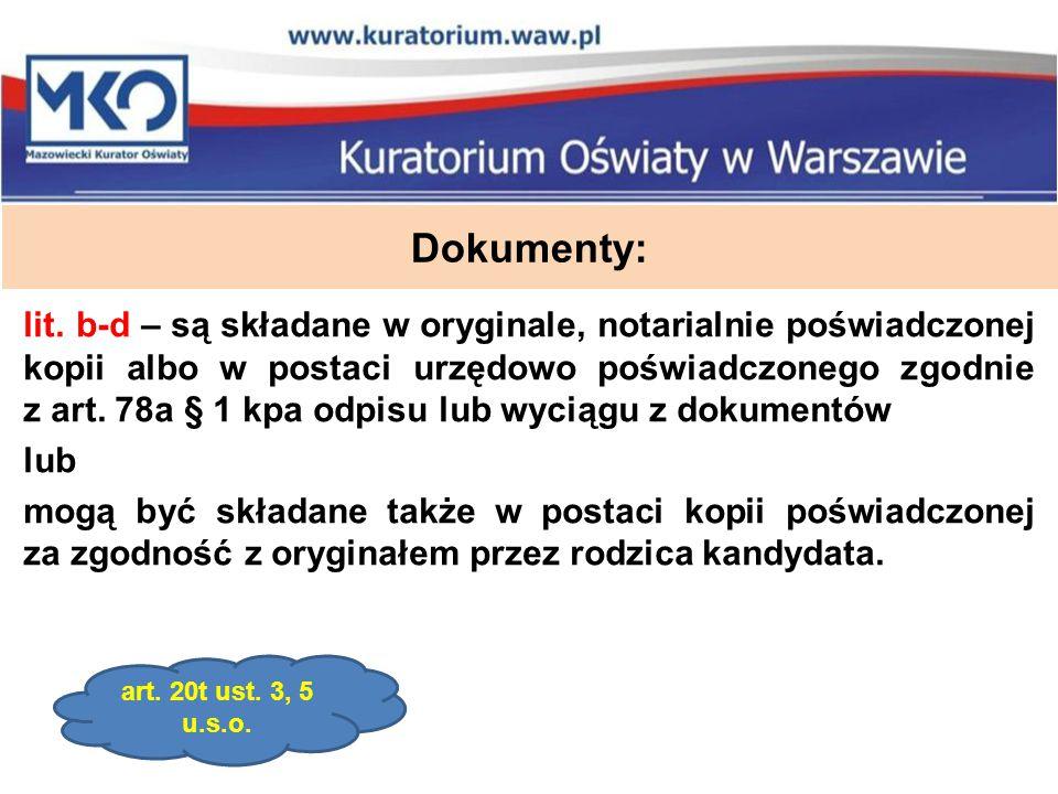 Dokumenty: lit.