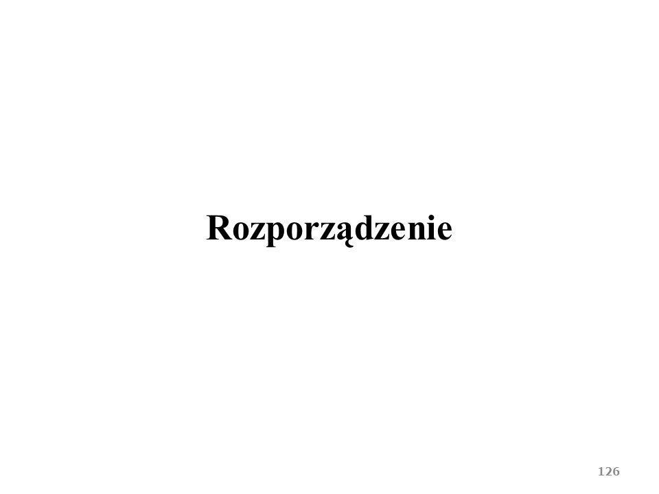 Rozporządzenie 126