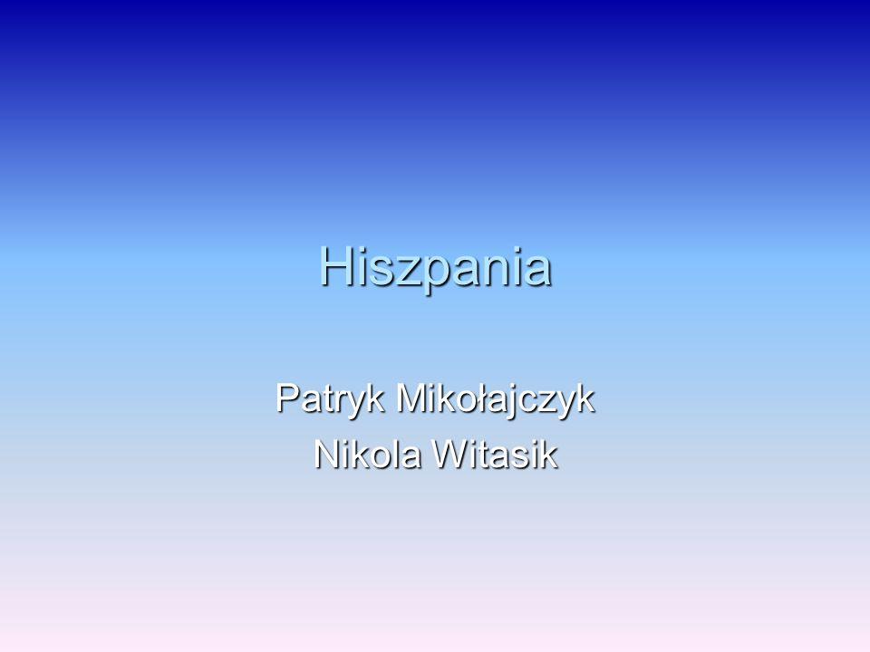 Hiszpania Patryk Mikołajczyk Nikola Witasik