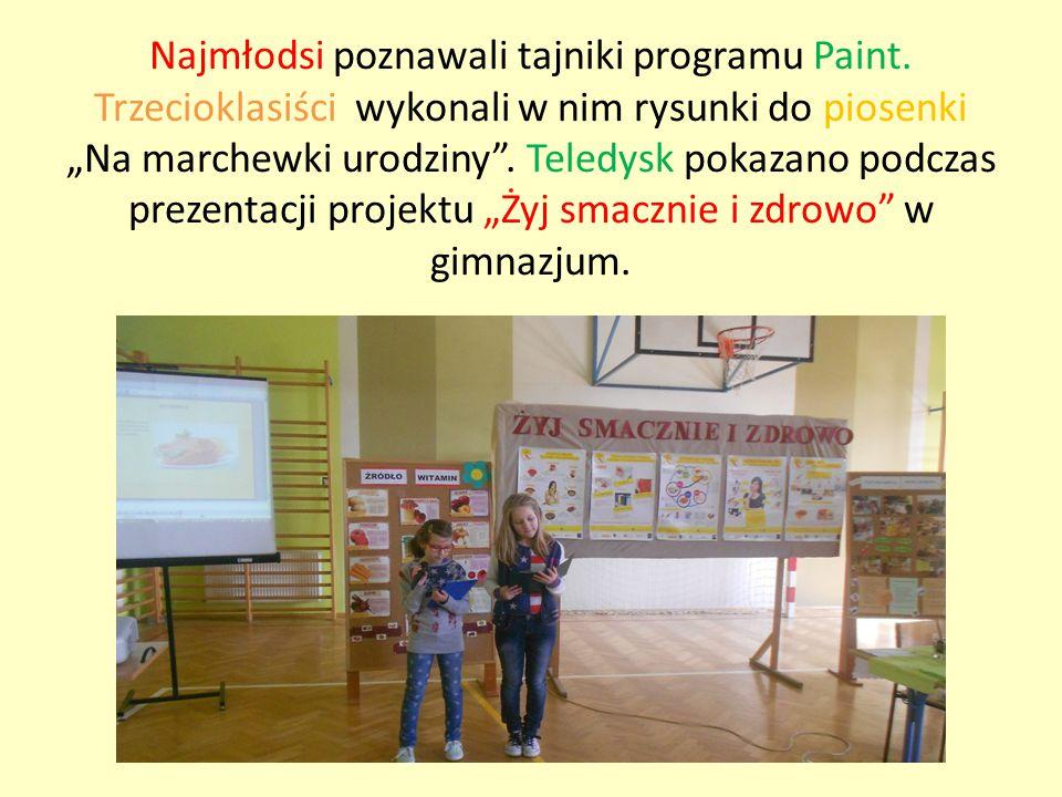 Najmłodsi poznawali tajniki programu Paint.
