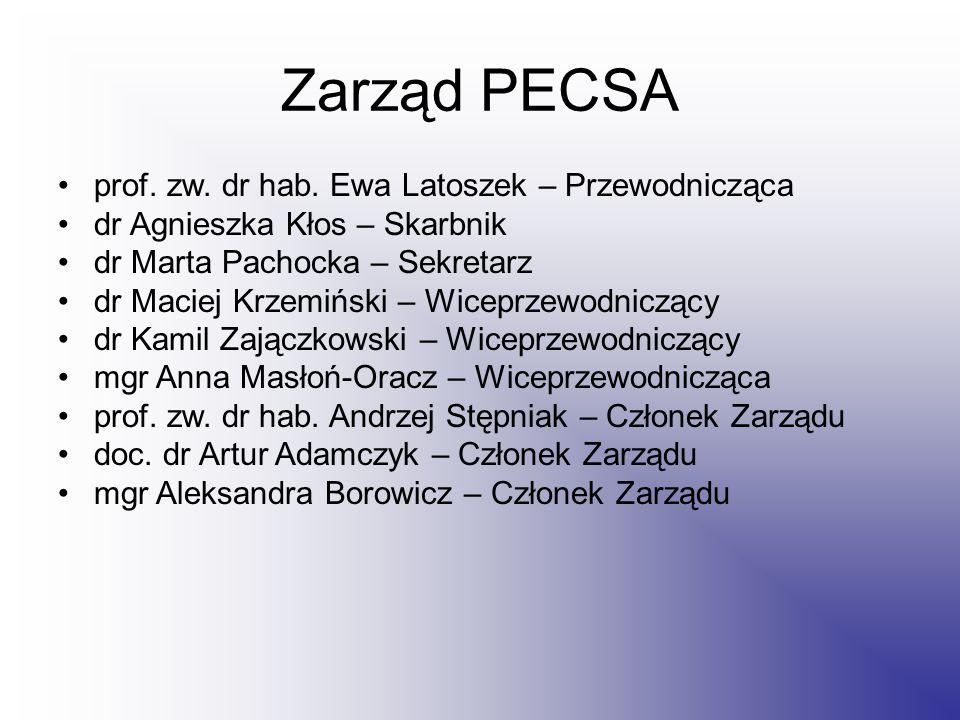Zarząd PECSA prof. zw. dr hab.