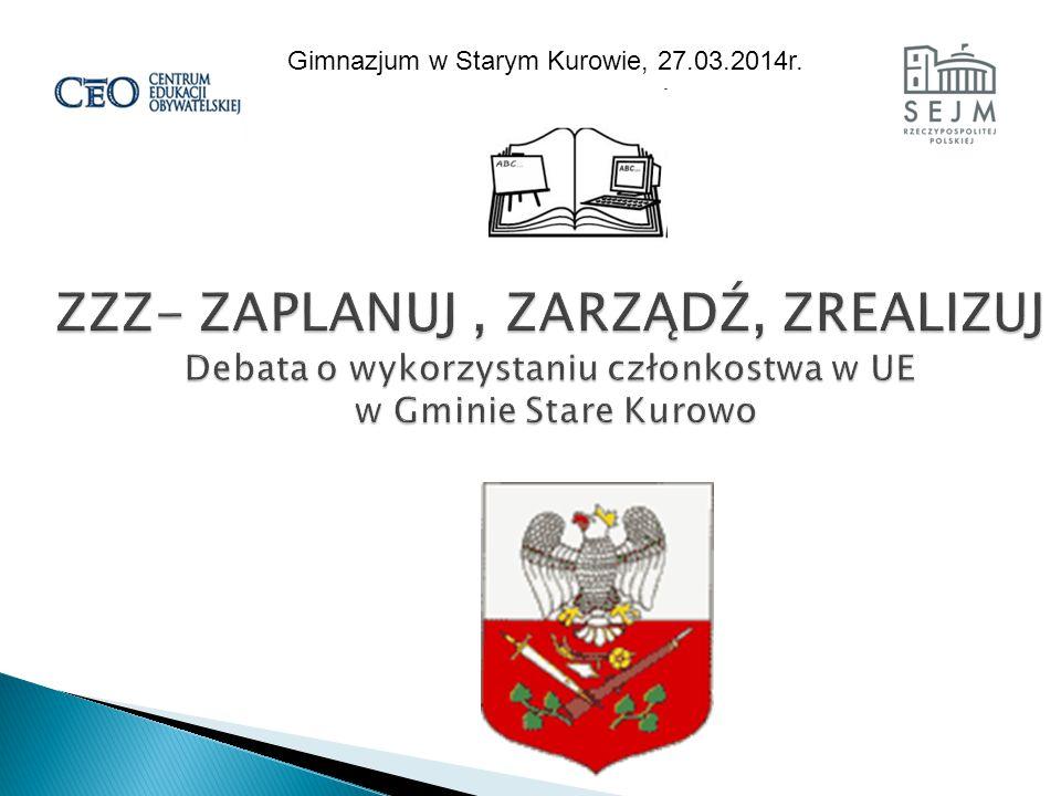 Gimnazjum w Starym Kurowie, 27.03.2014r.