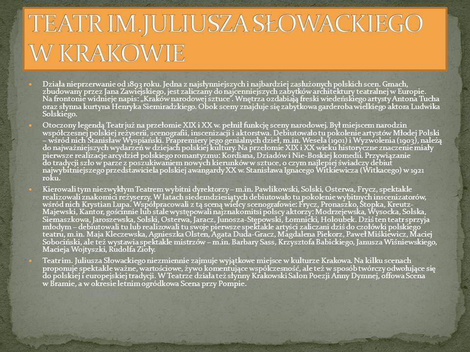 Teatr Stary w Lublinie to najstarszy po krakowskim Teatrze Starym zachowany budynek teatralny w Polsce [1].