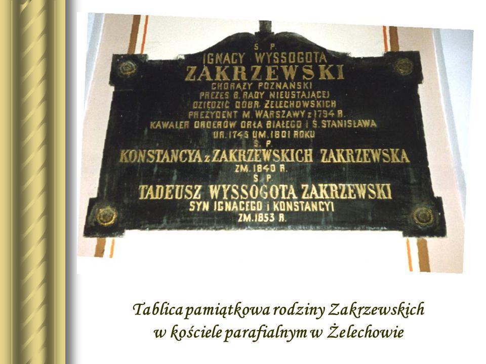 Zaginiona tablica pamiątkowa na frontonie pałacu Zakrzewskiego