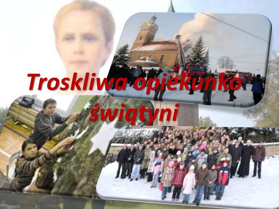 Bibliografia zdjęć: http://malygosc.pl/doc/1331233.Senat-uczcil-bl-Karoline http://www.mojepowolanie.pl/893,a,slubuje-ci-czystosc.htm http://mateusz.pl/ludzie/teresa.htm http://martagogoc.blogspot.com/2012/05/emilka-i-komunia-swieta.html http://picasaweb.google.com/lh/photo/vSRt4utaeXF9Y4EDB3JxBw http://dzieckonmp.wordpress.com/2012/10/17/milion-dzieci-modli-sie-na-rozancu/ http://opole.gazeta.pl/opole/1,35086,8829500,Pozar_kosciola_w_Jelowej_opanowany__ZDJECIA_.ht ml https://www.pinterest.com/lottomagicteam/this-is-hard-to-believe/?page=3 http://www.fotostudio.opole.pl/wydarzenia/albumid_1273179948 http://www.kolbe.diecezja.gda.pl/index.php?go=10 http://www.przewodnik-katolicki.pl/nr/wiara_i_kosciol/tajemnica_cierpienia.html http://lodzk.opole.pl/zdjecia/72%20koncert/kocipwwbartomiejawjeowej.html http://ekonomik.opole.pl/www2/index.php?option=com_content&task=view&id=1079&Itemid=82 http://wroclaw.caritas.pl/Wydarzenie/625/Zbiorka-zywnosci-_Tak-pomagam_---podsumowanie http://www.nto.pl/apps/pbcs.dll/article?AID=/20100103/POWIAT01/605925861 http://www.jelowa.eu/index.php/2-uncategorised/10-warsztaty-kroszonkarskie-2012 http://www.google.pl/search?karolina+kózkówna http://www.dziennikpolski24.pl/pl/region/region-tarnowski/1248998-grusze-od-bl-karoliny- kozkowny.html Podkład muzyczny Tyś Patronką – pod Gruszą http://twojanuta.pl/mp3,1sovh,tys-patronka-pod-grusza.html