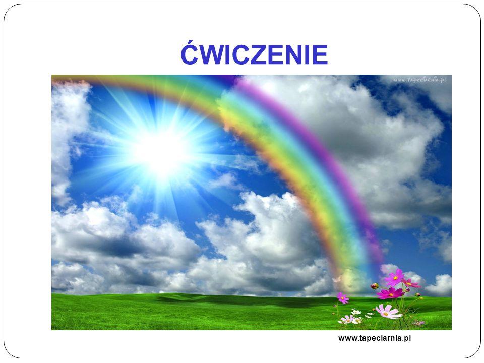 ĆWICZENIE www.tapeciarnia.pl