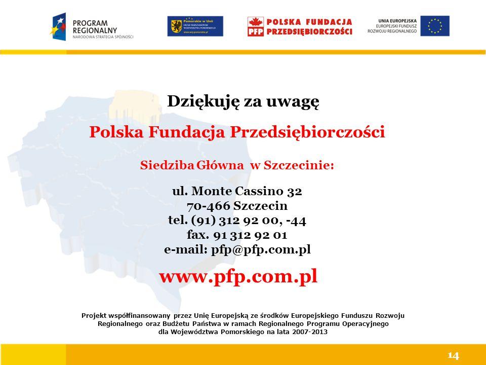 Projekt współfinansowany przez Unię Europejską ze środków Europejskiego Funduszu Rozwoju Regionalnego oraz Budżetu Państwa w ramach Regionalnego Progr