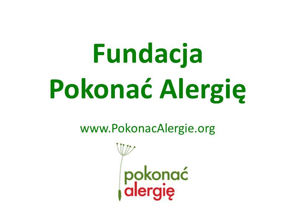 Fundacja Pokonać Alergię www.PokonacAlergie.org