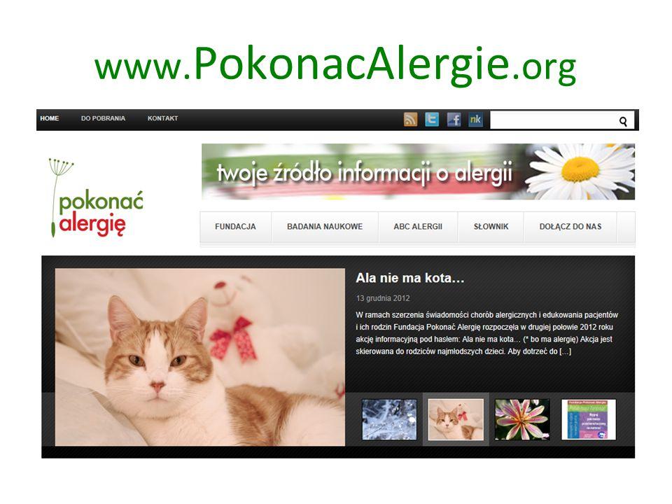www. PokonacAlergie.org