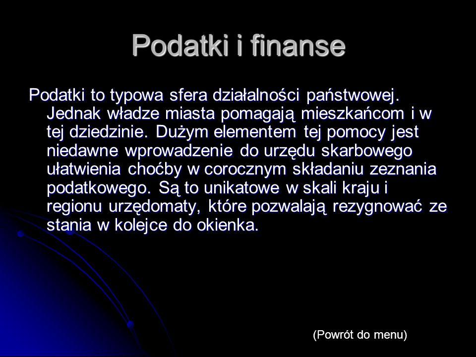Podatki i finanse Podatki to typowa sfera działalności państwowej.