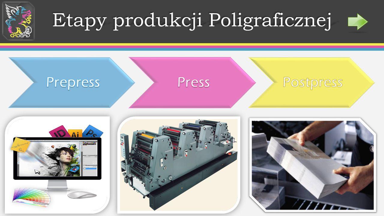Etapy produkcji Poligraficznej