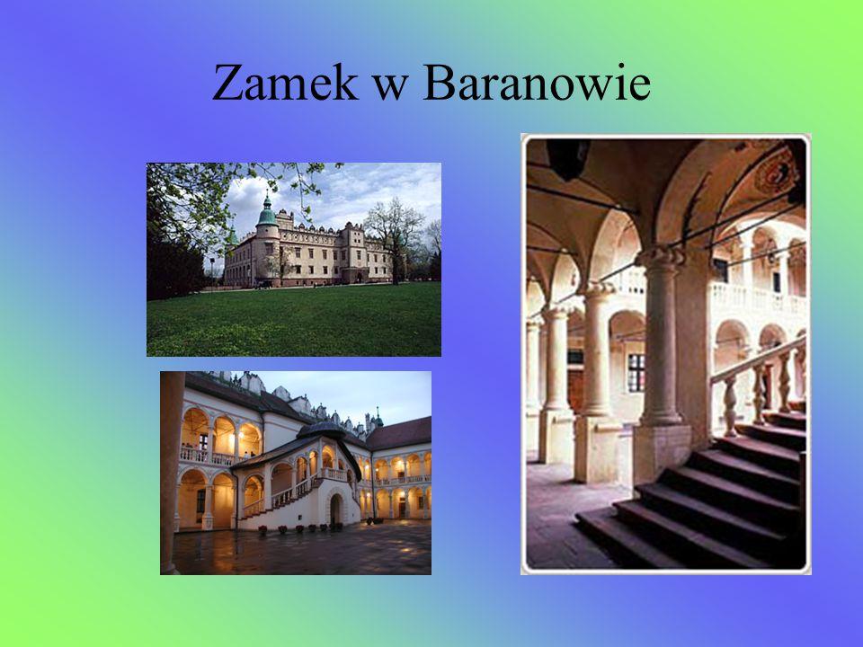 Zamek w Baranowie