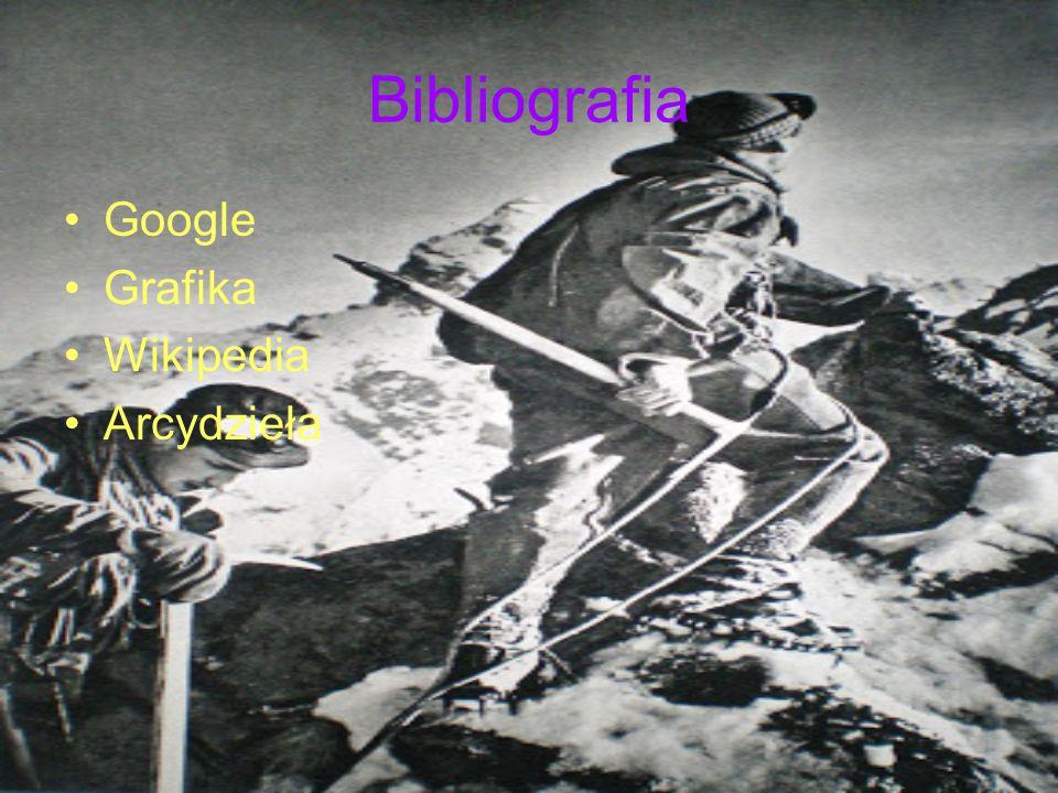 Bibliografia Google Grafika Wikipedia Arcydzieła