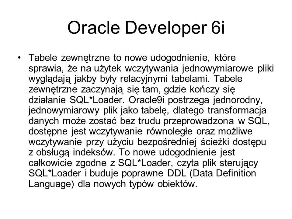 Net8 Net8 stanowi w Oracle podstawę systemu komunikacji klient-serwer.