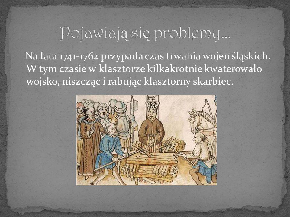 Na lata 1741-1762 przypada czas trwania wojen śląskich.