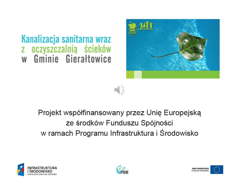 """""""Kanalizacja sanitarna – sołectwo Paniówki"""