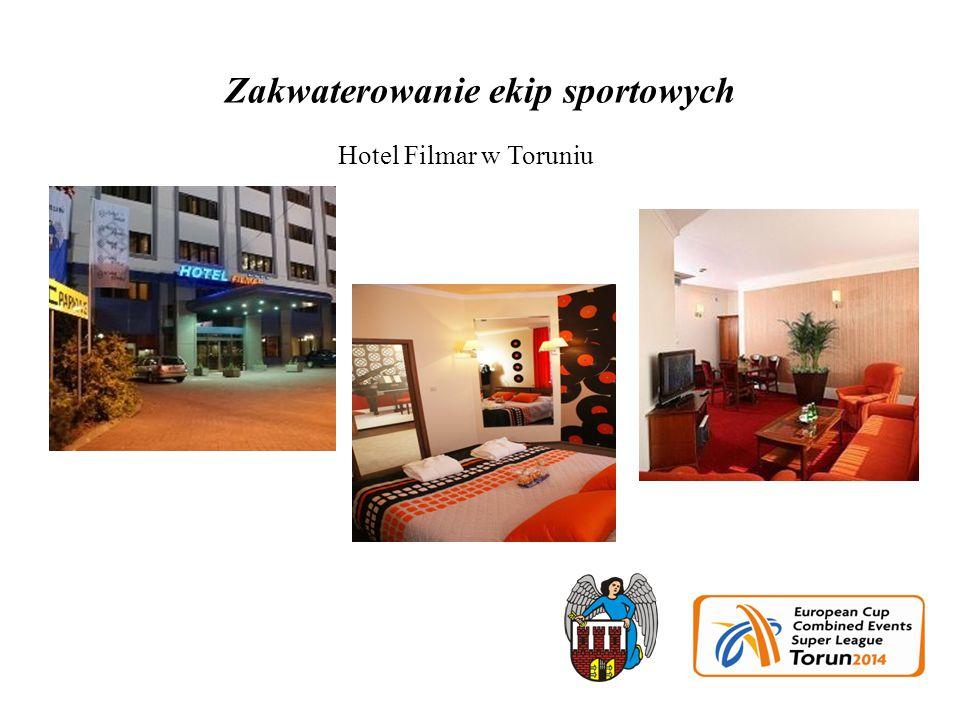 Zakwaterowanie ekip sportowych Hotel Filmar w Toruniu