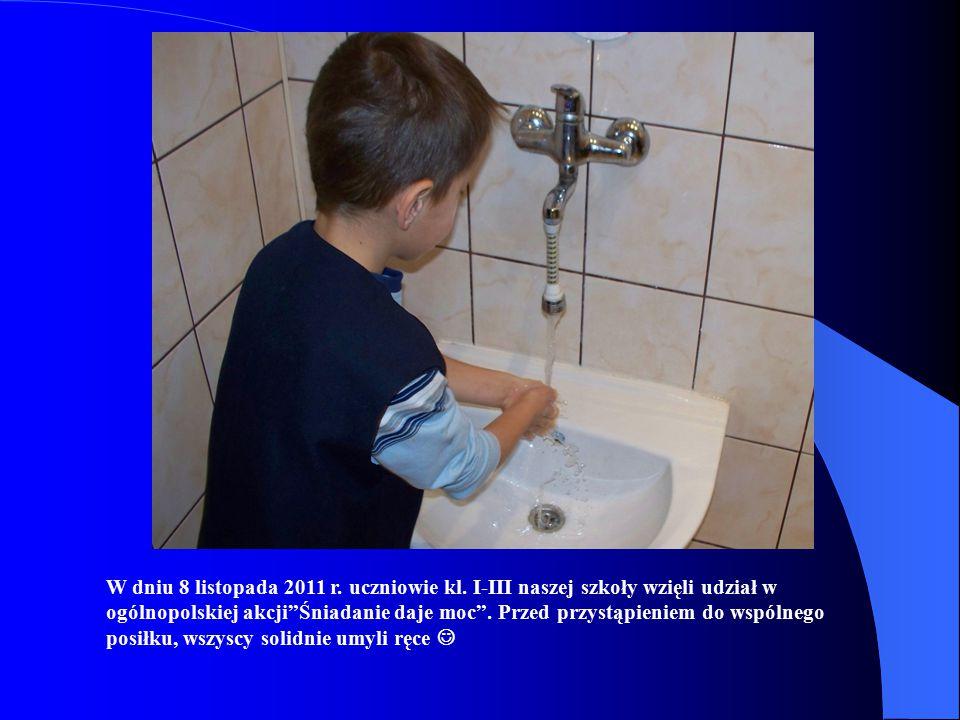 8 listopada 2011r. reportaż z Publicznej Szkoły Podstawowej im. św. Stanisława Kostki w Biesiadkach