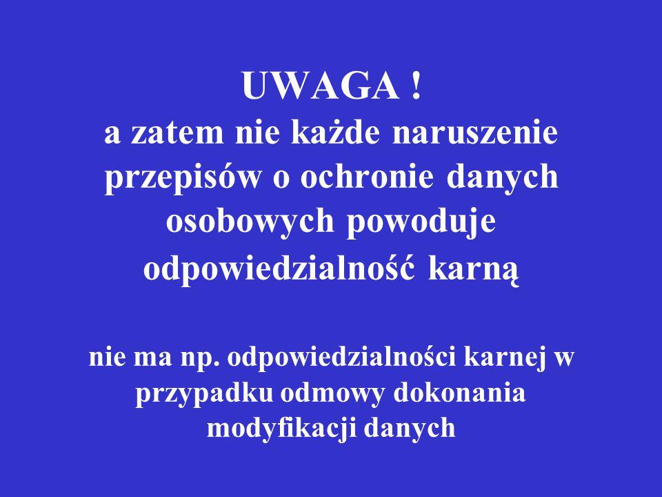 UWAGA .