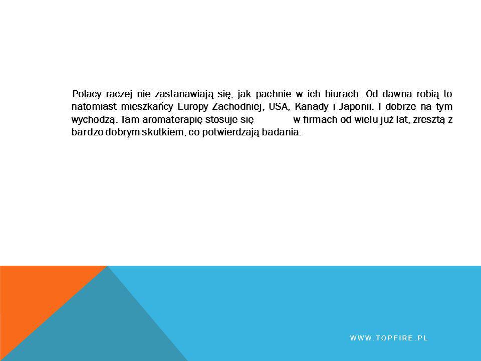 Dziękuję za uwagę WWW.TOPFIRE.PL