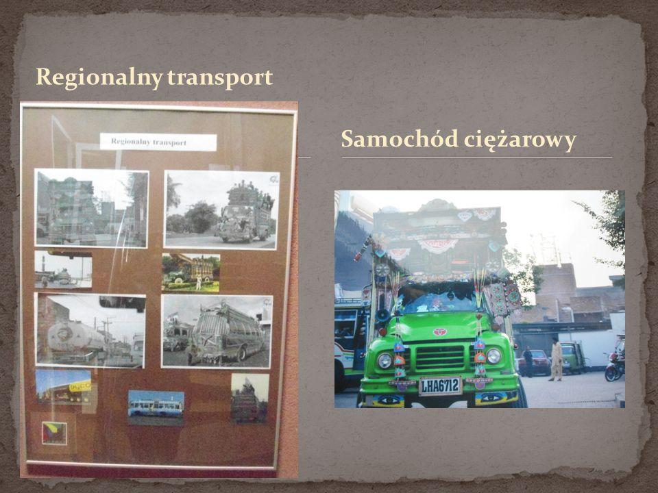 Regionalny transport Samochód ciężarowy