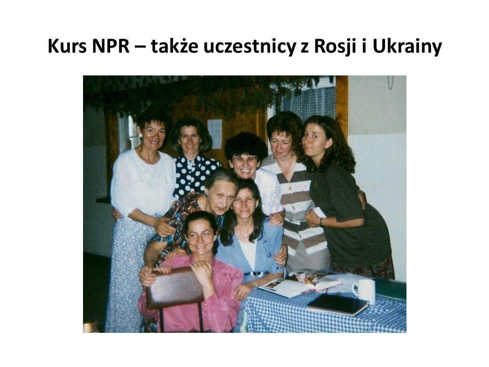 Kurs NPR – także uczestnicy z Rosji i Ukrainy