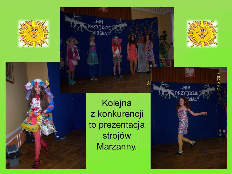 Klasy otrzymywały również punkty za strój w odpowiednim kolorze oraz hasło przywołujące Wiosnę.