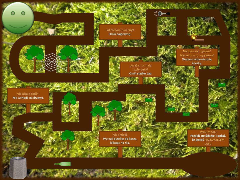 Prezentację przygotowano w oparciu o : -broszury i tablice informacyjne, -stronę internetową www.lasy.gov.pl, -własne doświadczenia. Wykorzystane zdję