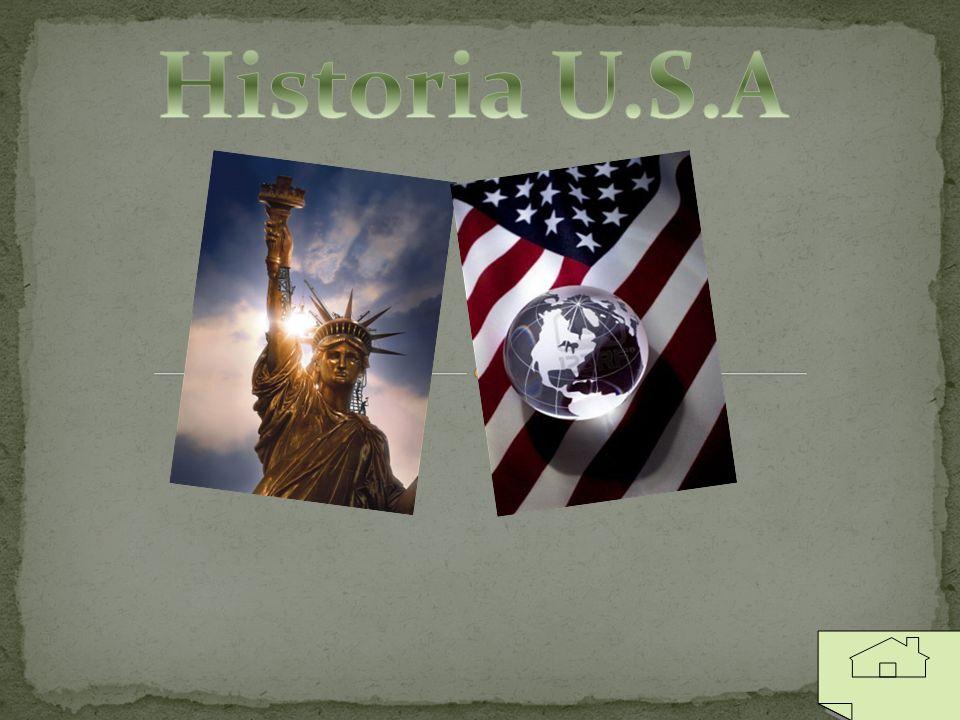 Historia Odkrycie ameryki Przez Kolumba Indianie Pielgrzymi Dzień dziękczynienia Bostońska herbatka Deklaracja niepodległości Niewolnictwo Wojna secesyjna Współczesność Początki XX wieku II wojna światowa Lądowanie na księżycu Wojna z terroryzmem