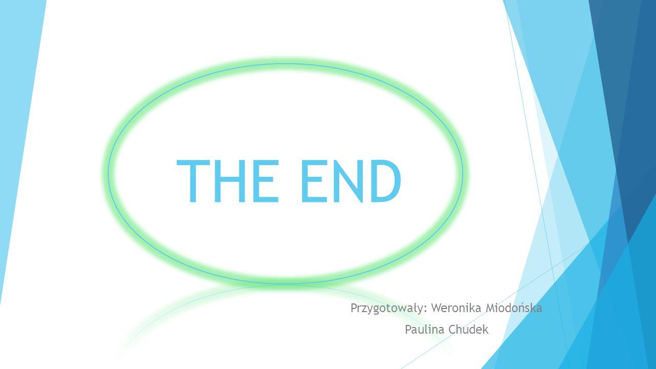 THE END Przygotowały: Weronika Miodońska Paulina Chudek