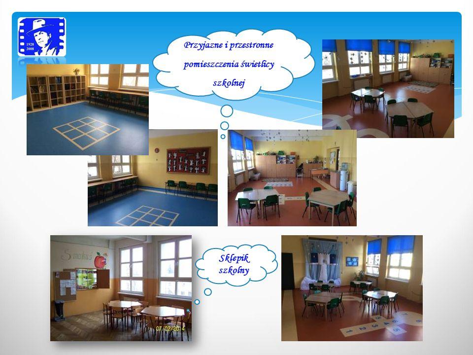 Sala do zajęć gimnastyki i judo Sala gimnastyczna Sala rekreacyjna- stanowiąca doskonałe miejsce do odpoczynku i zabawy, szczególnie dla uczniów klas