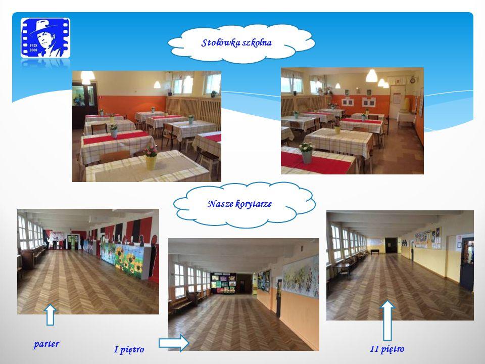 Stołówka szkolna Nasze korytarze parter I piętro II piętro