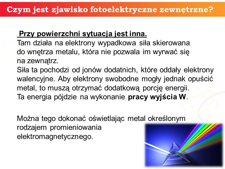informatyka + 7 Fotokomórka Zjawisko fotoelektryczne obserwuje się w fotokomórce.