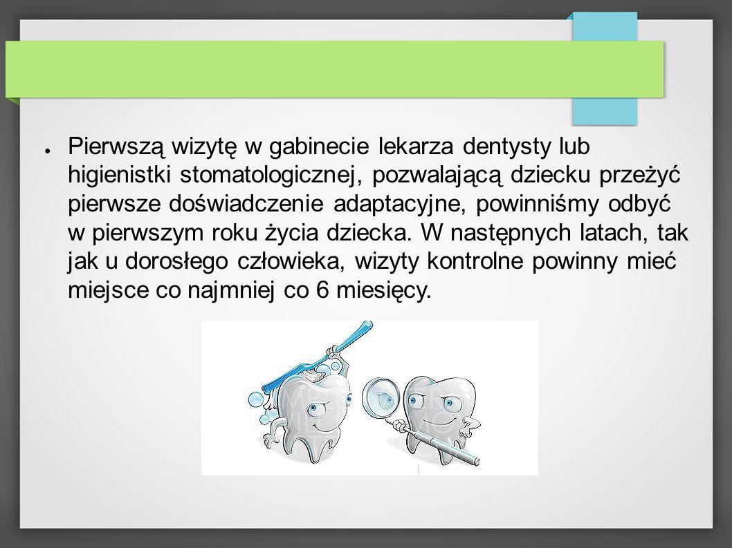 Pamiętajmy, że nieleczona próchnica zębów mlecznych łatwo przechodzi na zawiązki oraz już wyrznięte zęby stałe.