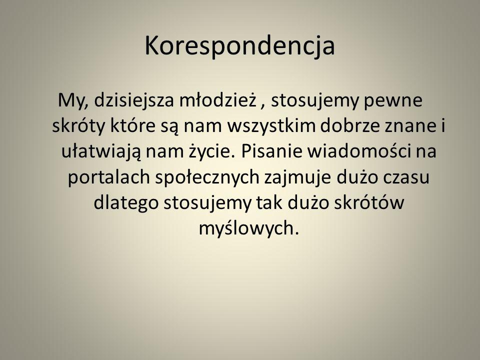 Miażdżące fakty Coraz mniej polskiej młodzieży a niekiedy nawet dorosłych umie mówić po polsku.