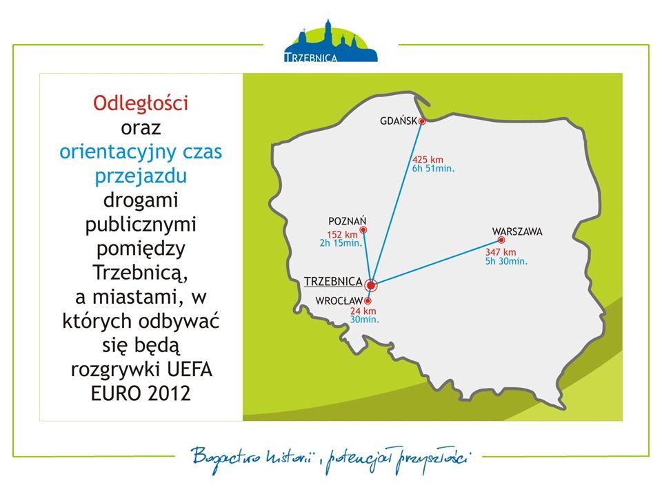Trasa w linii prostej (1,3 km) Trasa drogami publicznymi (1,9 km)  Odległości między hotelem pobytowym, a infrastrukturą treningową