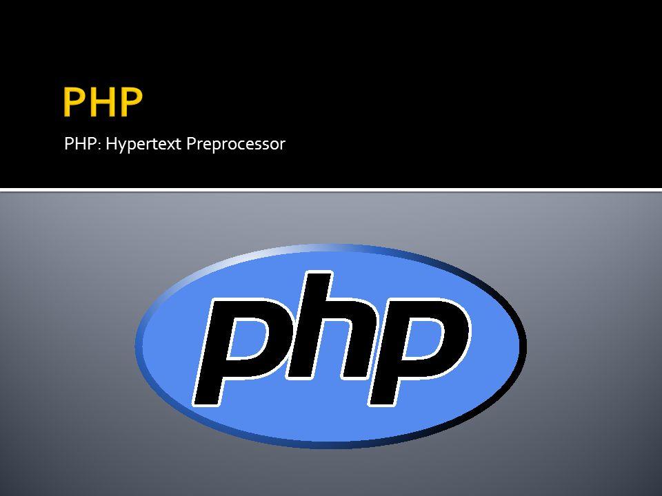  PHP  Język skryptowy ogólnego przeznaczenia  Główne zastosowanie: dynamiczne strony internetowe, server-side scripting  Powstanie i rozwój  Pierwsza wersja: 1995 r.