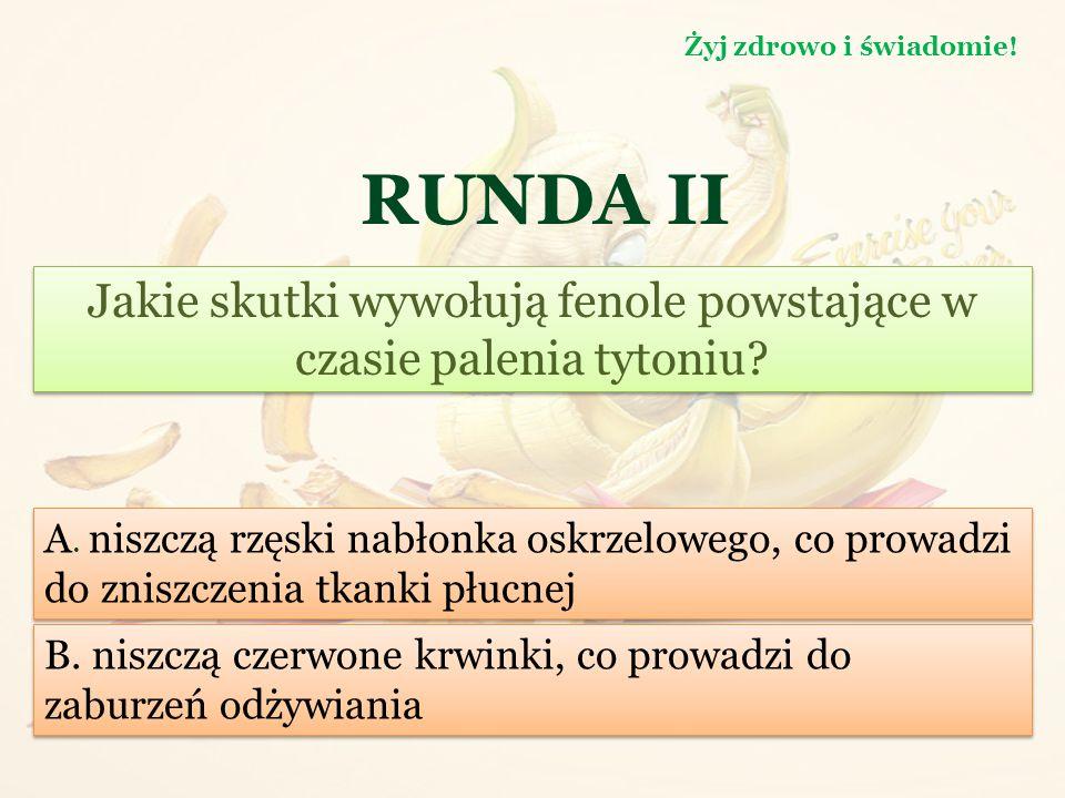 RUNDA II Co jest bardziej kaloryczne. Żyj zdrowo i świadomie.