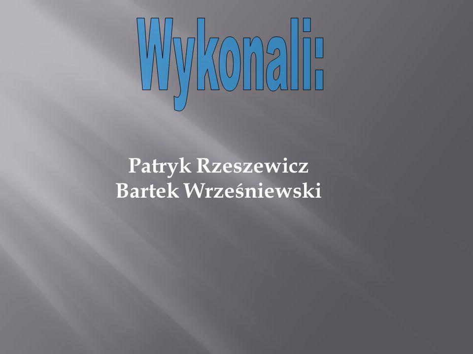 Patryk Rzeszewicz Bartek Wrześniewski