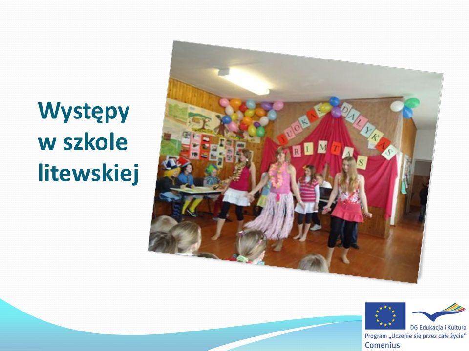 Występy w szkole litewskiej