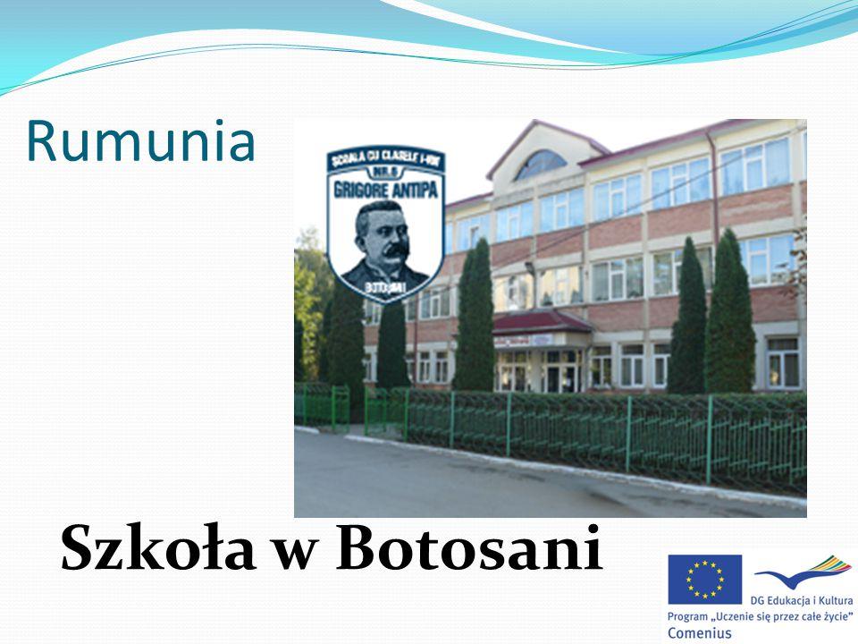 Rumunia Szkoła w Botosani