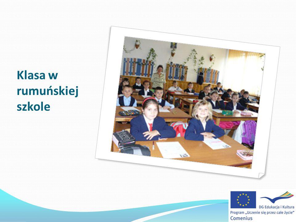 Klasa w rumuńskiej szkole