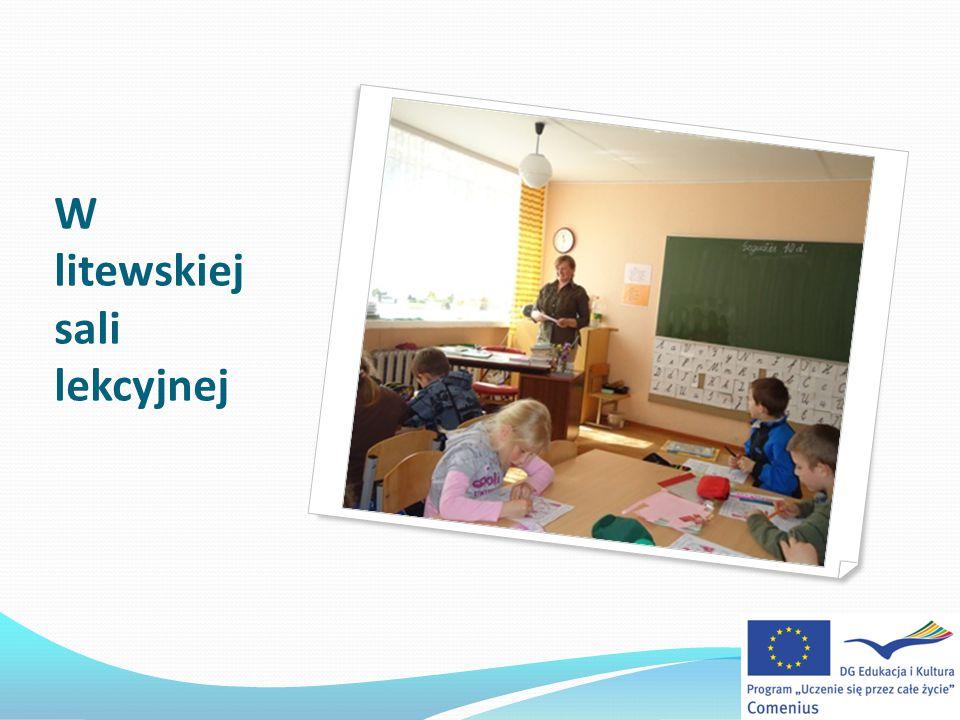 W litewskiej sali lekcyjnej