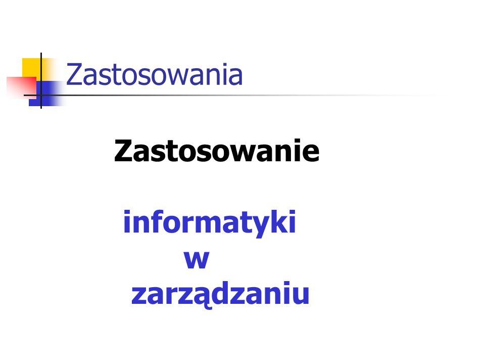 Struktura systemu informacyjnego Nadawcy informacji Odbiorcy informacji Zbiory informacji Kanały informacyjne Metody i techniki przetwarzania informacji