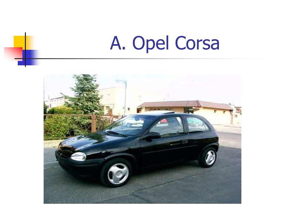 A. Opel Corsa