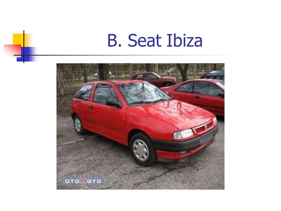 B. Seat Ibiza