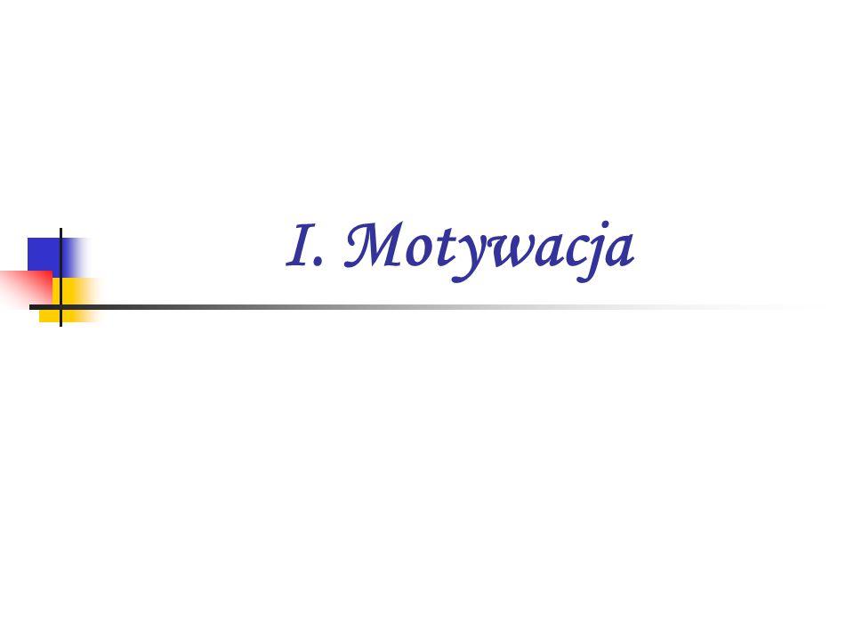 I. Motywacja