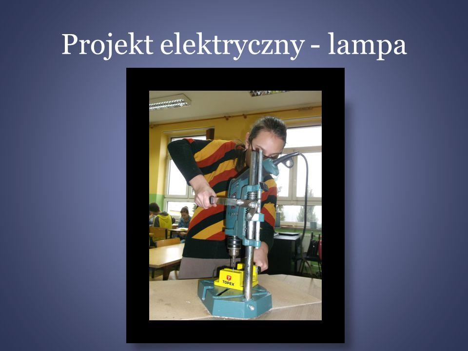 Projekt elektryczny - lampa